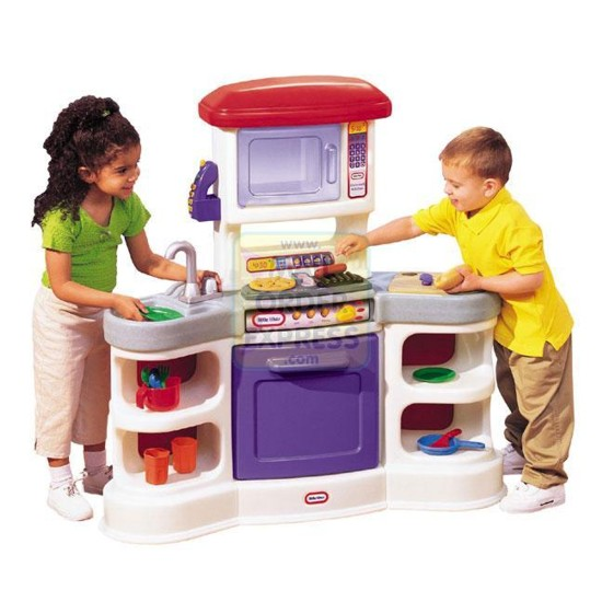 little tikes electronic home kitchen